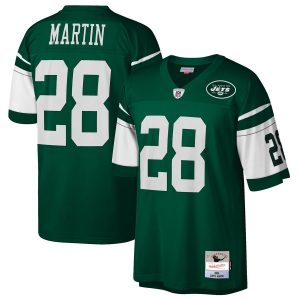 Curtis Martin New York Jets Mitchell & Ness 2004 Retired Player Replica Jersey