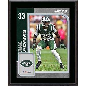 Fanatics Authentic Jamal Adams New York Jets 10.5″ x 13″ Sublimated Player Plaque