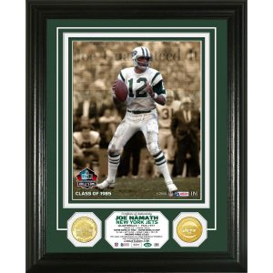 Highland Mint Joe Namath New York Jets Hall of Fame Induction Photomint