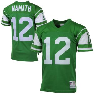 Joe Namath New York Jets Mitchell & Ness 1968 Retired Player Vintage Replica Jersey