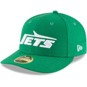 New Era New York Jets Green Omaha Throwback Low Profile 59FIFTY Fitted Hat