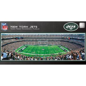 New York Jets 1000-Piece NFL Stadium Panoramic Puzzle