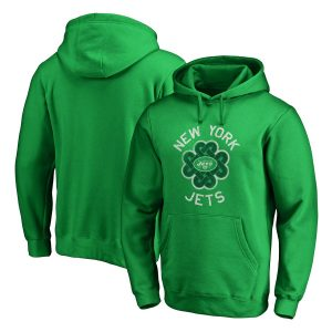 New York Jets St. Patrick's Day Luck Tradition Pullover Hoodie