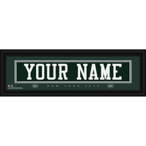 New York Jets Personalized Name Plate