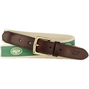 New York Jets Vineyard Vines NFL Belt