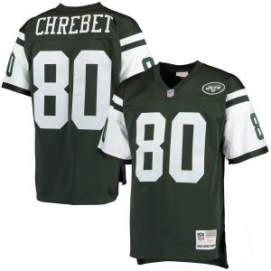 Wayne Chrebet New York Jets Mitchell & Ness Retired Player Replica Jersey